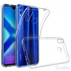 Прозрачный силиконовый чехол для телефонов Honor